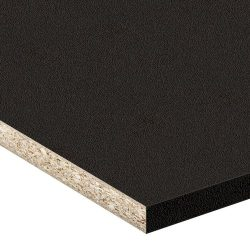 Black HMR Particleboard Pearl Finish 3600x1200x16mm