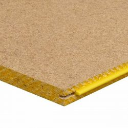 Tongue and Groove Particleboard Flooring  3600x800x19mm Yellow General Purpose